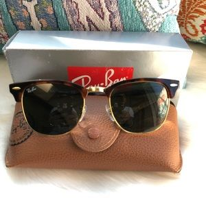 A like new Ray-Ban for women .